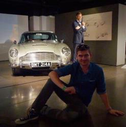 The Classic Aston Martin DB5!